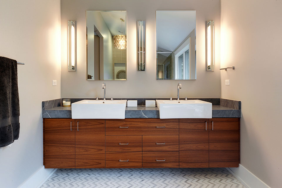 Bathroom Modern Cabinets Photo Gallery