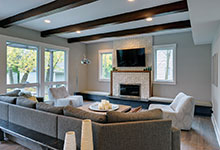 1431-Meadow-Glenview - Family Room Detail - Globex Developments Custom Homes