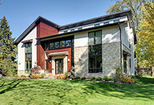 1431-Meadow-Glenview - House Front Angle View - Globex Developments Custom Homes