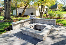 1431-Meadow-Glenview - Patio FirePit - Globex Developments Custom Homes