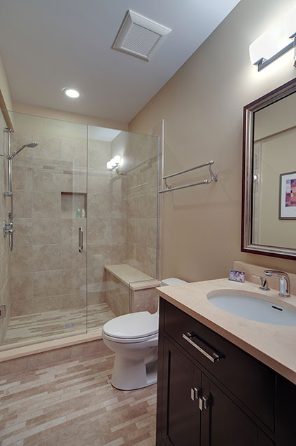 1444-Greenwood-Deerfield - basement-bathroom - Globex Developments Custom Homes