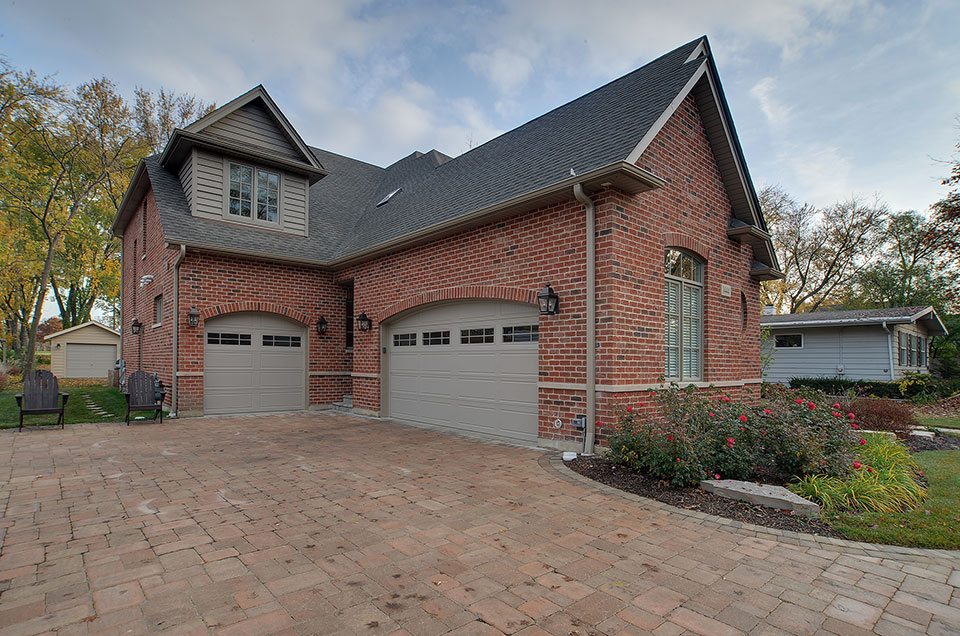 1444-Greenwood-Deerfield - front-elevation-3 - Garage Door Gallery
