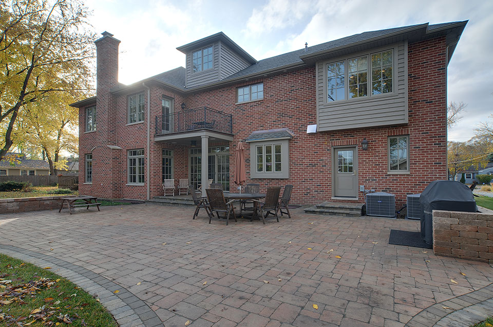 1444-Greenwood-Deerfield - rear-elevation-1 - Globex Developments Custom Homes