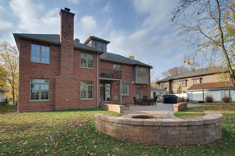 1444-Greenwood-Deerfield - rear-elevation-2 - Globex Developments Custom Homes
