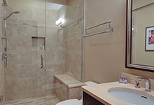 1444-Greenwood-Deerfield - Basement Bathroom - Globex Developments Custom Homes