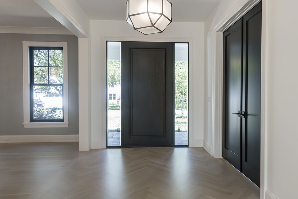 1444-Hawthorne-Glenview - Entry-Door - Globex Developments Custom Homes