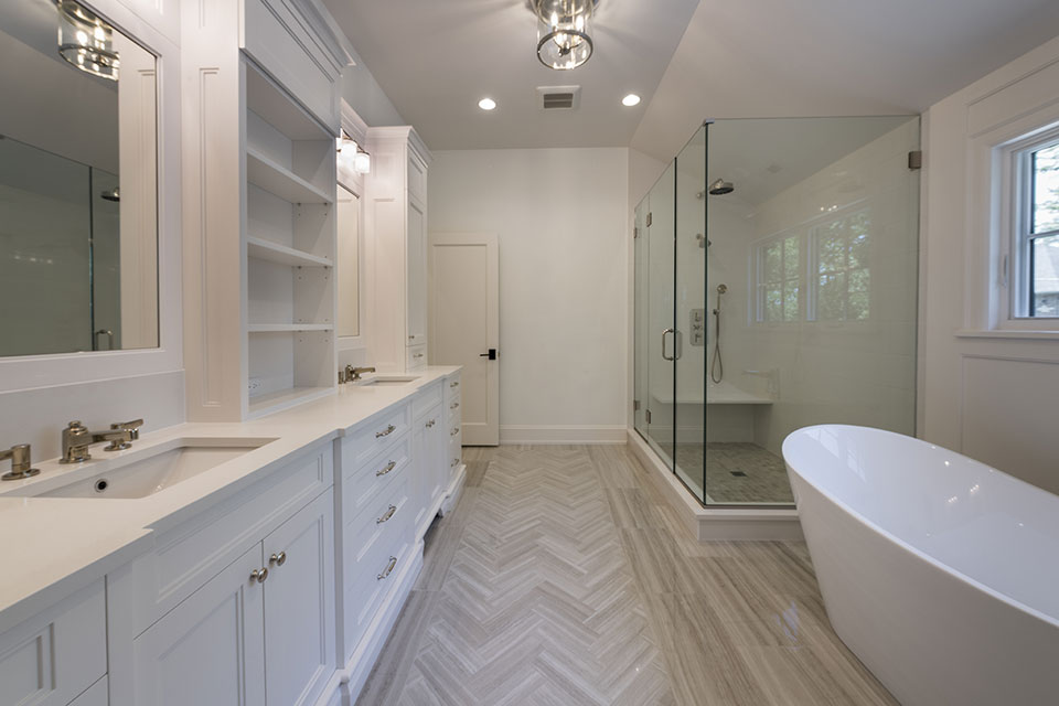 1444-Hawthorne-Glenview - Master-Bathroom - Globex Developments Custom Homes
