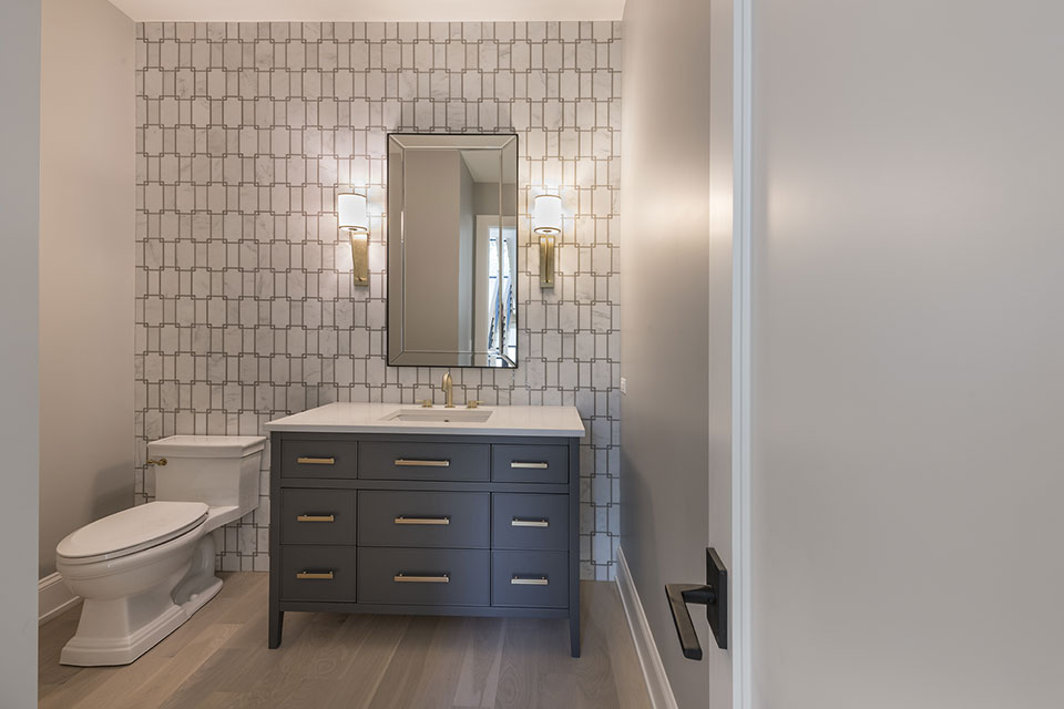 1444-Hawthorne-Glenview - Powder-Room - Globex Developments Custom Homes