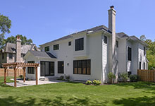 1444-Hawthorne-Glenview - Back Elevations - Globex Developments Custom Homes