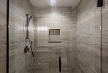 1444-Hawthorne-Glenview - Basement Bathroom, Shower - Globex Developments Custom Homes