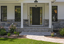 1444-Hawthorne-Glenview - Entry Door, Exterior - Globex Developments Custom Homes