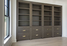 1444-Hawthorne-Glenview - Library Cabinets - Globex Developments Custom Homes