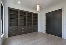 1444-Hawthorne-Glenview - Library - Globex Developments Custom Homes
