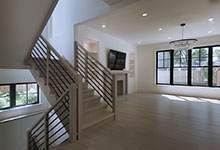 1444-Hawthorne-Glenview - Stairs, First Floor - Globex Developments Custom Homes