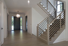 1444-Hawthorne-Glenview - Stairs Front Door - Globex Developments Custom Homes