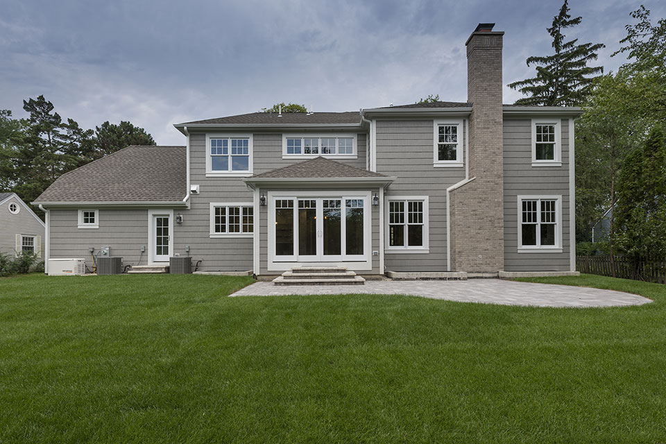 1525-Canterbury-Glenview - Back-Elevations - Globex Developments Custom Homes