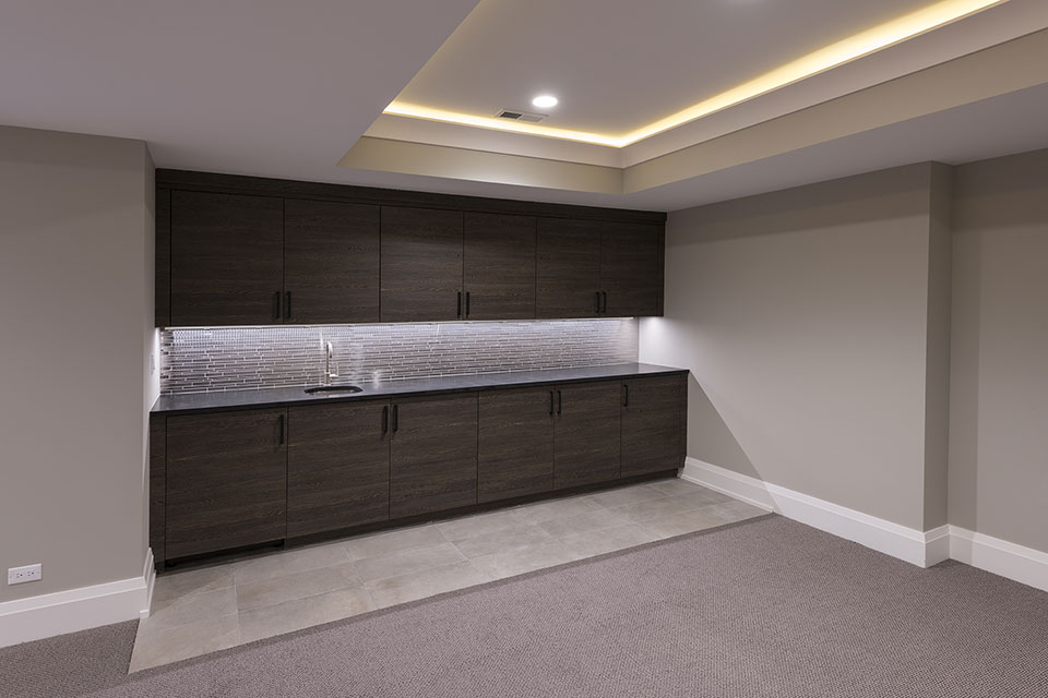 1525-Canterbury-Glenview - Basement-Cabinets - Globex Developments Custom Homes