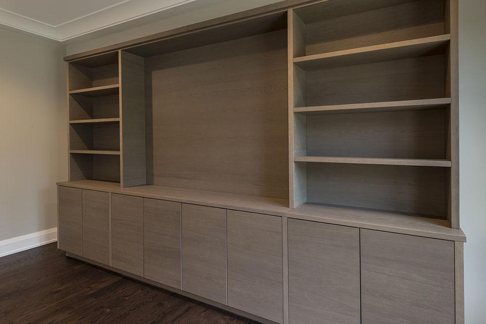 1525-Canterbury-Glenview - Custom Cabinets Family Room - Globex Developments Custom Homes