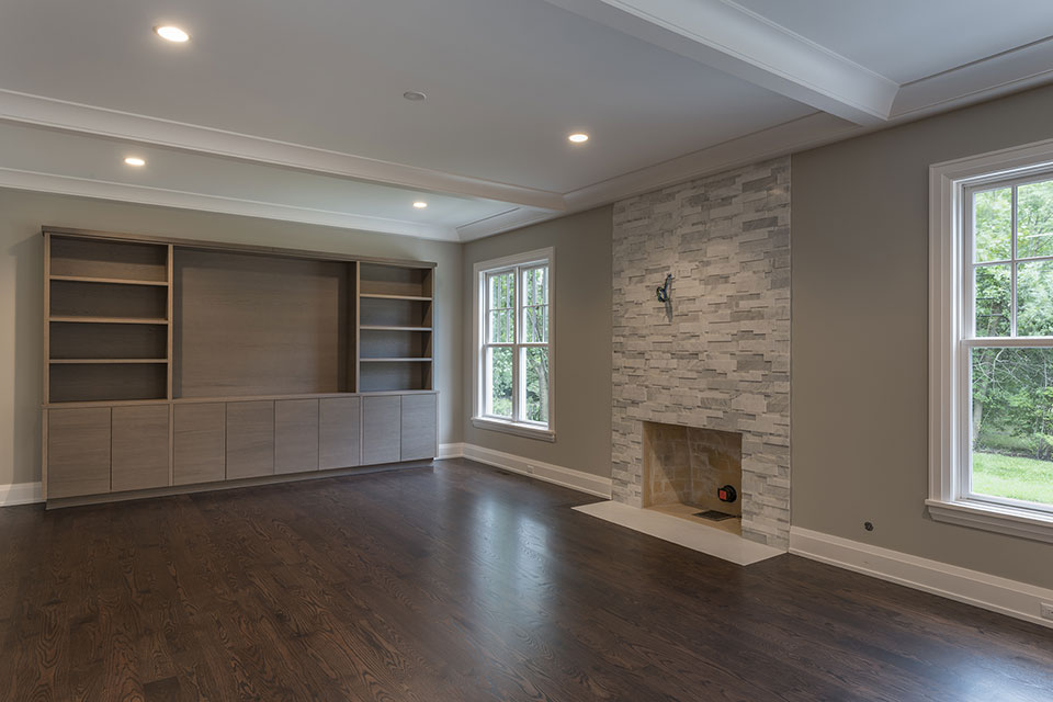 1525-Canterbury-Glenview - Family-Room - Globex Developments Custom Homes