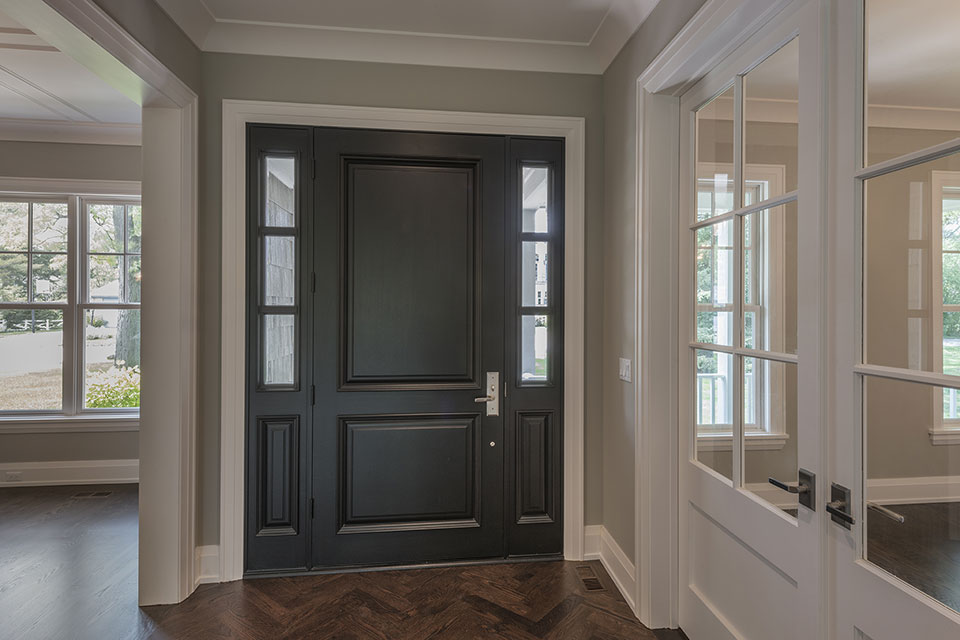 1525-Canterbury-Glenview - Front-Door,-Entrance - Globex Developments Custom Homes