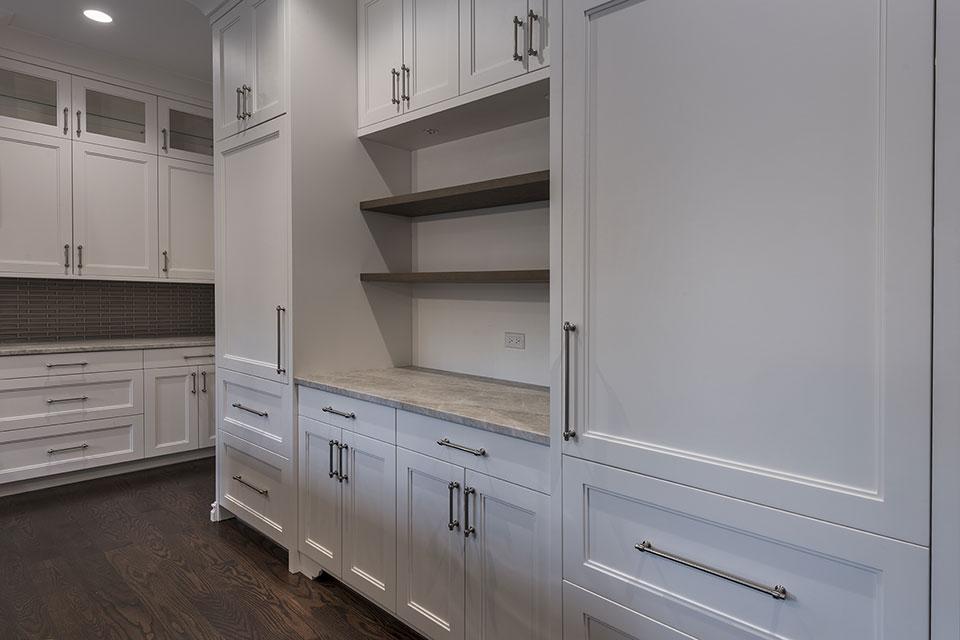 1525-Canterbury-Glenview - Kitchen Cabinets, Refrigirators - Globex Developments Custom Homes