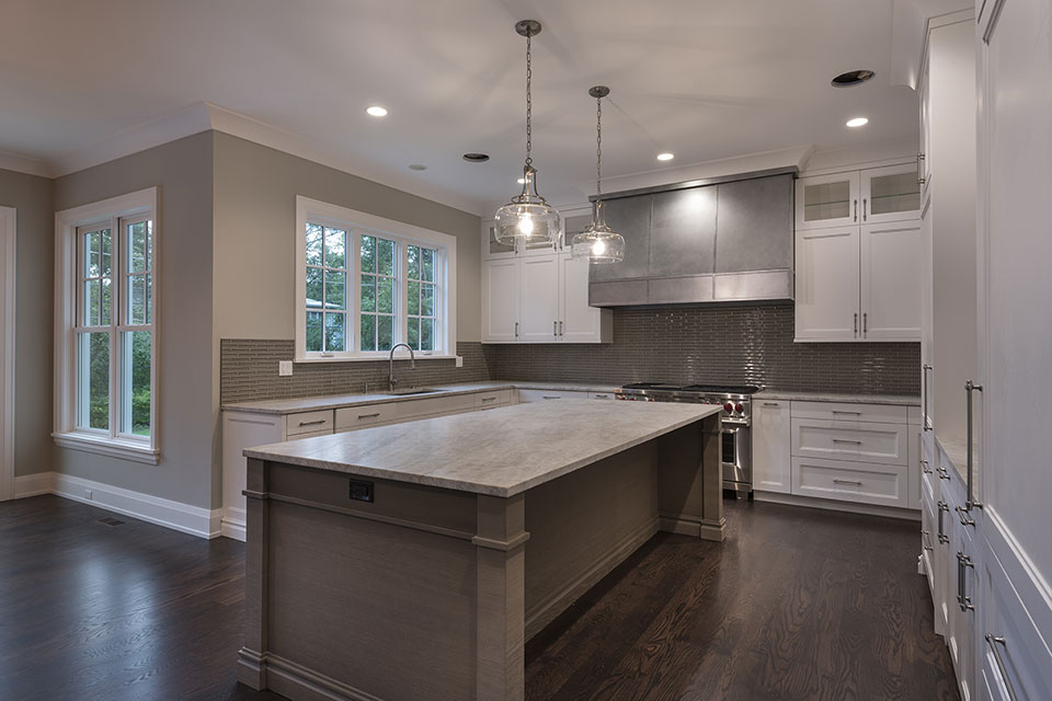 1525-Canterbury-Glenview - Kitchen-Window-View - Globex Developments Custom Homes