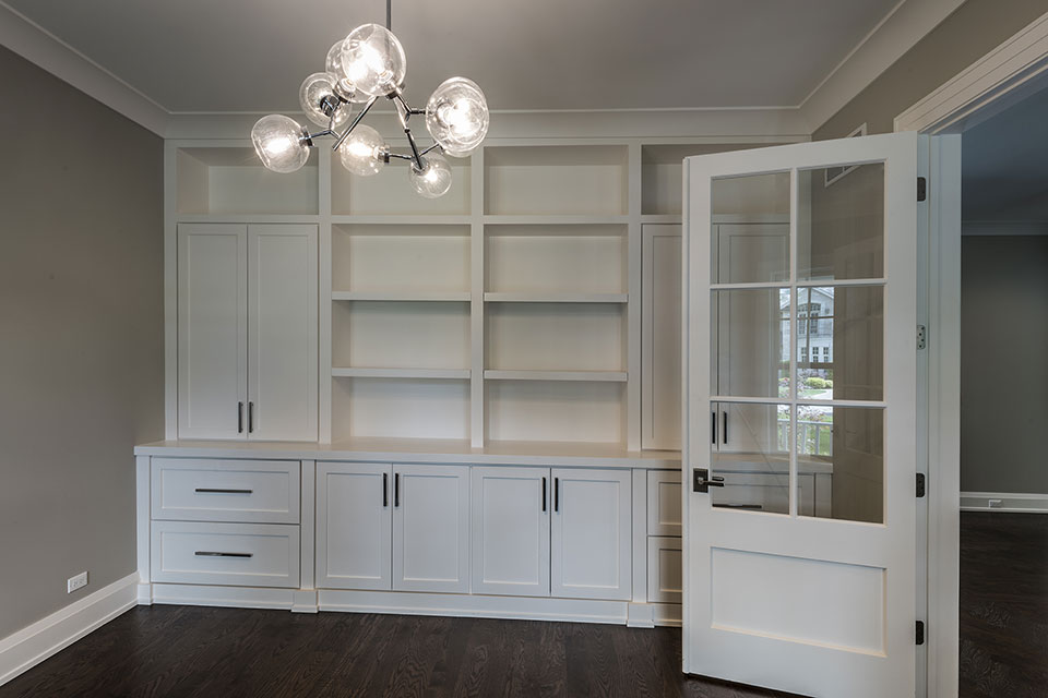 1525-Canterbury-Glenview - Office-Cabinets - Globex Developments Custom Homes