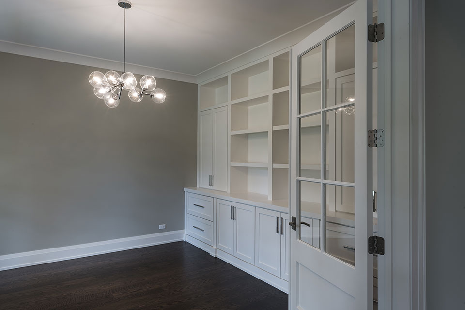 1525-Canterbury-Glenview - Office-Entrance - Globex Developments Custom Homes