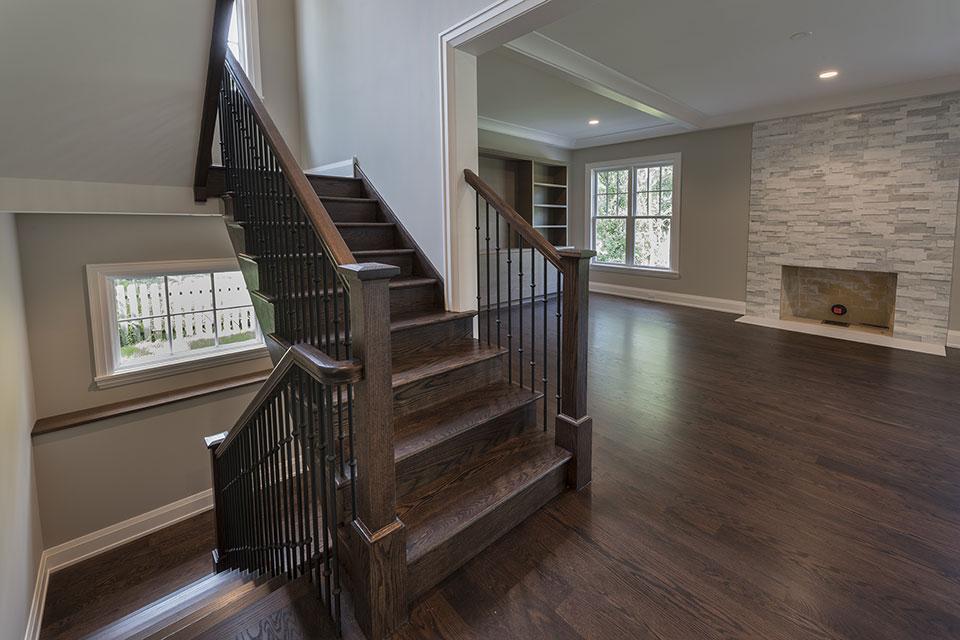 1525-Canterbury-Glenview - Stairs First Floor - Globex Developments Custom Homes