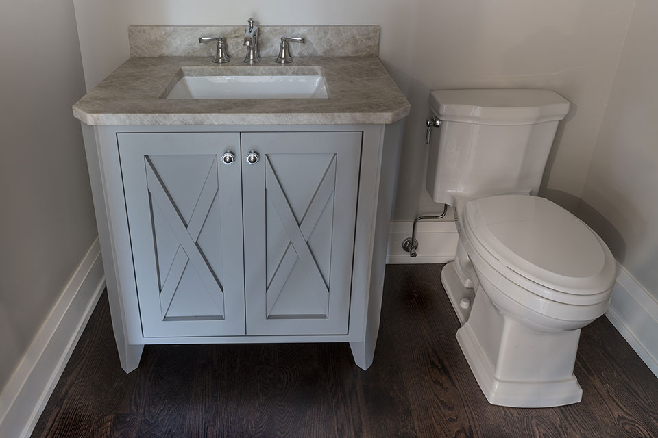 1525-Canterbury-Glenview - Vanity-Powder-Room - Globex Developments Custom Homes