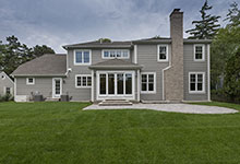 1525-Canterbury-Glenview - Back Elevations - Globex Developments Custom Homes