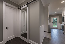 1525-Canterbury-Glenview - Barn Door, Mudroom - Globex Developments Custom Homes