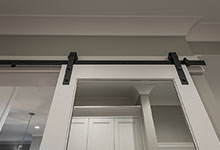 1525-Canterbury-Glenview - Barn Door CloseUp - Globex Developments Custom Homes