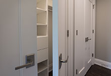 1525-Canterbury-Glenview - Closet Paint Grade Double Doors - Globex Developments Custom Homes