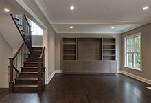 1525-Canterbury-Glenview - Family Room, Front View - Globex Developments Custom Homes