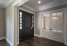 1525-Canterbury-Glenview - Front Doors, Office View - Globex Developments Custom Homes