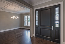 1525-Canterbury-Glenview - Front Doors, Sitting Room View - Globex Developments Custom Homes