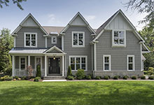 1525-Canterbury-Glenview - Front Elevations - Globex Developments Custom Homes