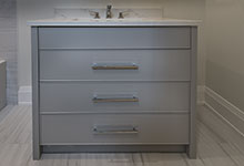 1525-Canterbury-Glenview - Guest Bathroom Vanity Custom Cabinets - Globex Developments Custom Homes