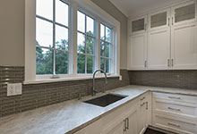 1525-Canterbury-Glenview - Kitchen Cabinets, Fauset, Window - Globex Developments Custom Homes