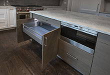 1525-Canterbury-Glenview - Kitchen Island Bottom Drawer - Globex Developments Custom Homes