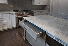 1525-Canterbury-Glenview - Kitchen Island Top Drawer - Globex Developments Custom Homes