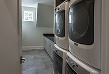 1525-Canterbury-Glenview - Laundry, Second Floor - Globex Developments Custom Homes