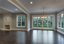 1525-Canterbury-Glenview - Living Room - Globex Developments Custom Homes