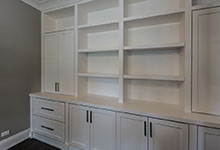 1525-Canterbury-Glenview - Office Cabinets CloseUp - Globex Developments Custom Homes