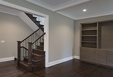 1525-Canterbury-Glenview - Stairs, Family Room - Globex Developments Custom Homes
