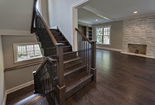 1525-Canterbury-Glenview - Stairs First Floor - Globex Developments Custom Homes