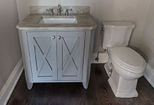 1525-Canterbury-Glenview - Vanity Powder Room - Globex Developments Custom Homes