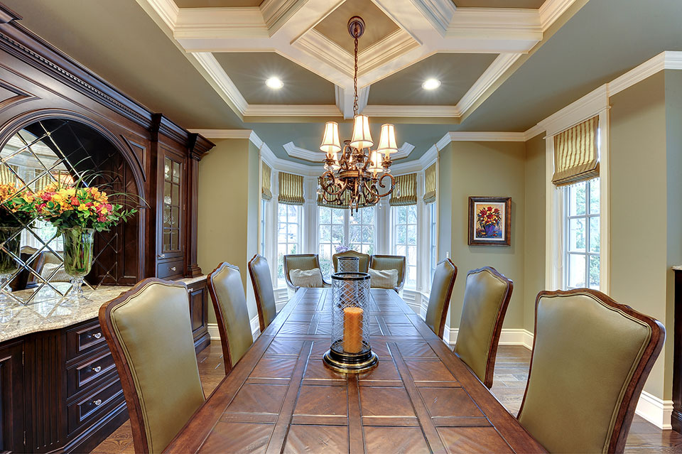 1620-Meadow-Glenview - Dining-Room-Table - Globex Developments Custom Homes