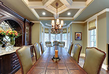 1620-Meadow-Glenview - Dining Room Table - Globex Developments Custom Homes